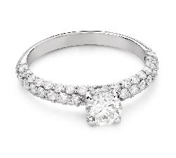 """Помолвочное кольцо с Бриллиантом """"Грациозность 172"""""""