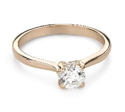 """Помолвочное кольцо с Бриллиантами """"Богиня 274"""""""