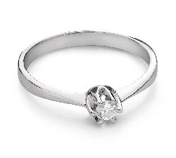 """Помолвочное кольцо с Бриллиантом """"Чистая 63"""""""