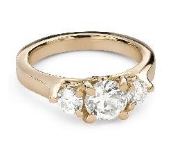 """Помолвочное кольцо с Бриллиантом """"Незабываемый 33"""""""