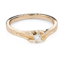 """Помолвочное кольцо с Бриллиантом """"Единственная 170"""""""