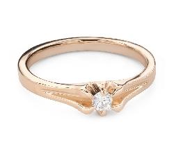 """Помолвочное кольцо с Бриллиантом """"Единственная 171"""""""