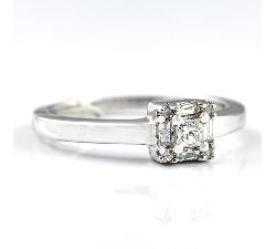 """Sužadėtuvių žiedas su Deimantais """"Meilės apsupty"""""""