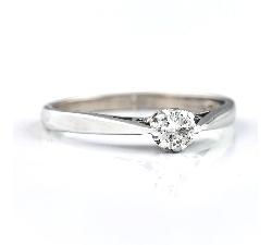 """Sužadėtuvių žiedas su Briliantu """"Vienintelė 20"""""""