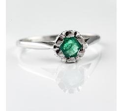 """Sužadėtuvių žiedas """"Smaragdas Išrinktajai II"""""""