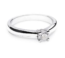 """Saderināšanās gredzens ar briljantu """"Stiprums 2"""""""