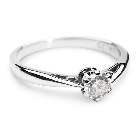 """Помолвочное кольцо с бриллиантом """"Единственная 28"""""""
